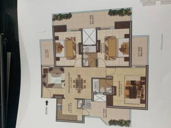 1645 sqft, 3 bhk Apartment in Hermitage Centralis VIP Rd, Zirakpur at Rs. 65.8000 Lacs