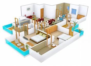 1460 sqft, 3 bhk Apartment in Motia Royal Citi Apartments Gazipur, Zirakpur at Rs. 16000