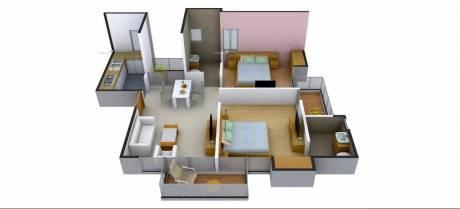 920 sqft, 2 bhk Apartment in Antriksh Galaxy Zone L Dwarka, Delhi at Rs. 34.1000 Lacs
