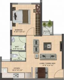 600 sqft, 1 bhk Apartment in Builder Project Santragachi howrah, Kolkata at Rs. 22.0000 Lacs