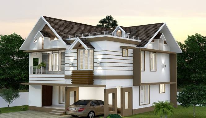 2101 sqft, 4 bhk IndependentHouse in Builder Victoria vrinthavan Punkunnam, Thrissur at Rs. 70.0000 Lacs