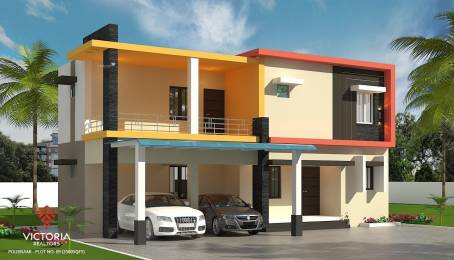 2000 sqft, 3 bhk IndependentHouse in Builder Victoria Pournami Chandranagar, Palakkad at Rs. 67.0000 Lacs
