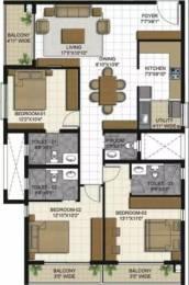 1775 sqft, 3 bhk Apartment in ETA Verde Porur, Chennai at Rs. 40000
