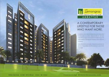 1053 sqft, 2 bhk Apartment in Ramky RWD Lemongraz Ambattur, Chennai at Rs. 58.5000 Lacs