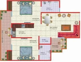 1050 sqft, 2 bhk Apartment in Gaursons Gaur Global Village Crossing Republik, Ghaziabad at Rs. 32.0000 Lacs