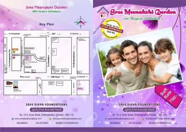 700 sqft, Plot in Builder Sree Meenakshi Garden Thiruporur to Chengalpattu Road, Chennai at Rs. 5.2500 Lacs