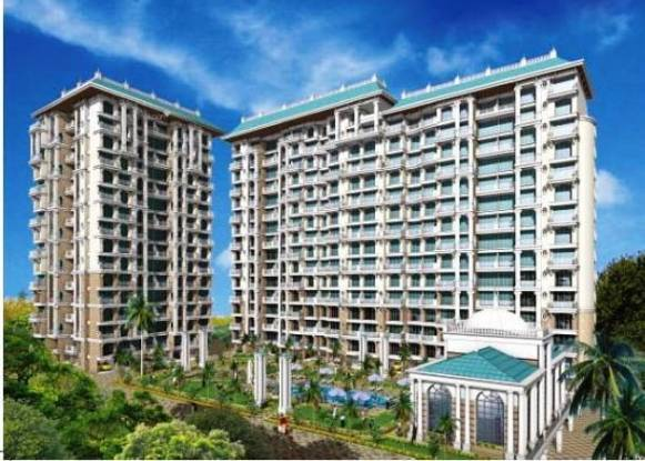 1105 sqft, 2 bhk Apartment in Tharwani Rosewood Heights Kharghar, Mumbai at Rs. 1.1200 Cr