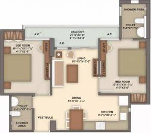 923 sqft, 2 bhk Apartment in Unique My Haveli Ajmer Road, Jaipur at Rs. 24.9210 Lacs