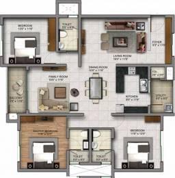 1891 sqft, 3 bhk Apartment in Century Infiniti Junnasandra, Bangalore at Rs. 1.0000 Cr
