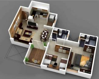 859 sqft, 2 bhk Apartment in Ahura Ecopolitan Phase I Punawale, Pune at Rs. 55.0000 Lacs