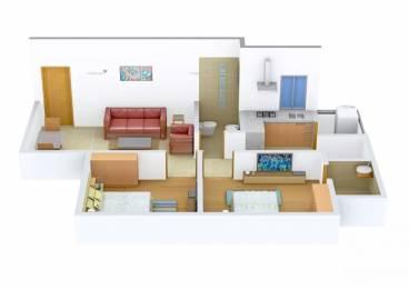 818 sqft, 2 bhk Apartment in Adani Aangan Near Vaishno Devi Circle On SG Highway, Ahmedabad at Rs. 33.0000 Lacs