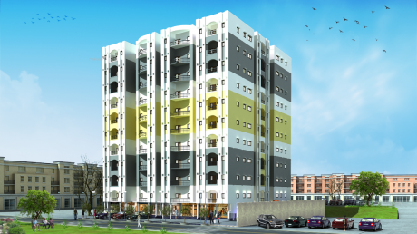 1860 sqft, 3 bhk Apartment in Builder bcc radhe krishna Lucknow Faizabad Road, Lucknow at Rs. 55.0000 Lacs