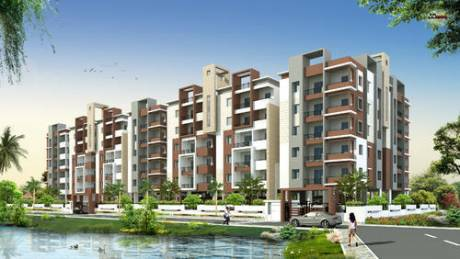 1000 sqft, 2 bhk Apartment in Akshita Heights Two Tower II Malkajgiri, Hyderabad at Rs. 45.0000 Lacs