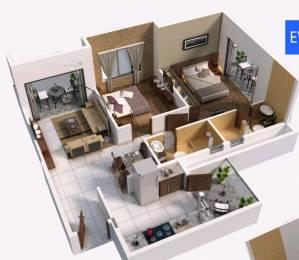 1128 sqft, 2 bhk Apartment in Jay Sai Shrushti Shreerang Nagar, Nashik at Rs. 47.0000 Lacs