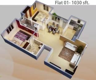 1030 sqft, 2 bhk Apartment in NSR Breeze Talaghattapura, Bangalore at Rs. 47.0000 Lacs