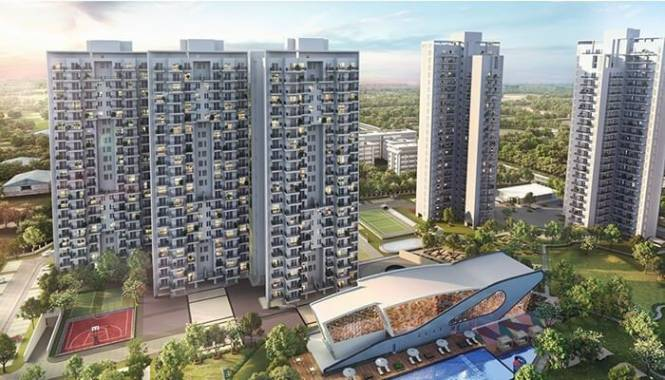 1557 sqft, 2 bhk Apartment in Godrej Nature Plus Sector 33 Sohna, Gurgaon at Rs. 97.0000 Lacs