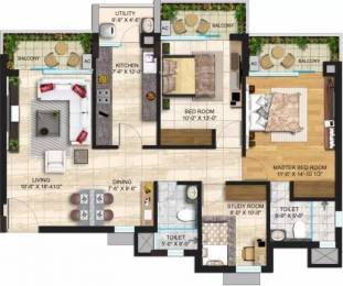 1164 sqft, 2 bhk Apartment in Janta Sky Gardens Sector 66, Mohali at Rs. 25000