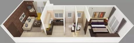 526 sqft, 1 bhk Apartment in Zara Horizon Matunga, Mumbai at Rs. 46000