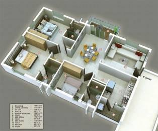 1800 sqft, 3 bhk Apartment in S And S Green Projects Builders Fields Tadigadapa, Vijayawada at Rs. 81.0000 Lacs