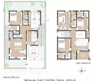 3670 sqft, 4 bhk Villa in Vertex Capital County Villa Namburu, Guntur at Rs. 1.6200 Cr