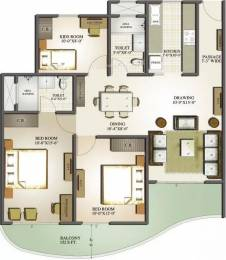 1250 sqft, 2 bhk Apartment in Mahagun Moderne Sector 78, Noida at Rs. 74.0000 Lacs