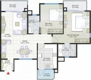 1297 sqft, 2 bhk Apartment in Prestige Shantiniketan Whitefield Hope Farm Junction, Bangalore at Rs. 98.0000 Lacs