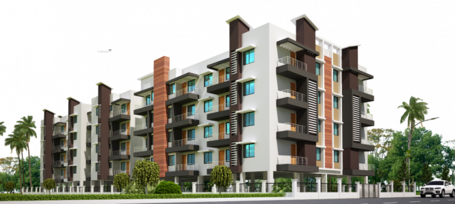 1200 sqft, 2 bhk Apartment in Builder Adya Arcade Gothapatna, Bhubaneswar at Rs. 27.4000 Lacs