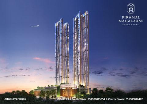 1200 sqft, 2 bhk Apartment in Piramal Mahalaxmi Mahalaxmi, Mumbai at Rs. 3.2800 Cr