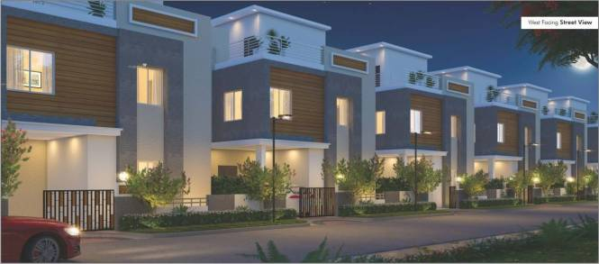 1805 sqft, 3 bhk Villa in Builder Project Mallampet, Hyderabad at Rs. 1.0830 Cr