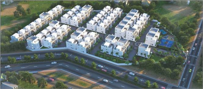 1980 sqft, 3 bhk Villa in Builder Project Mallampet Road, Hyderabad at Rs. 1.0890 Cr