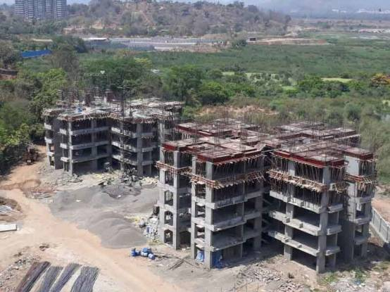 497 sqft, 1 bhk Apartment in Builder Raunak Unnati Woods Thane West Anand Nagar, Mumbai at Rs. 54.0000 Lacs