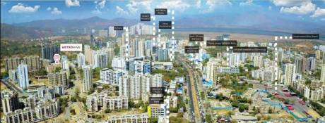 990 sqft, 2 bhk Apartment in Vihang Metro Hive D 1 Thane West, Mumbai at Rs. 67.0000 Lacs