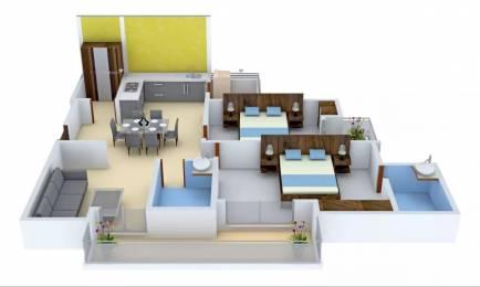 1315 sqft, 2 bhk Apartment in Gulshan Ikebana Sector 143, Noida at Rs. 82.2072 Lacs