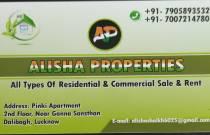 Alisha properties
