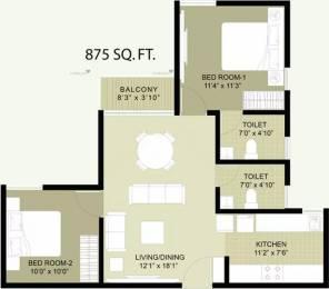 875 sqft, 2 bhk Apartment in Arun Heights Oragadam, Chennai at Rs. 34.8488 Lacs