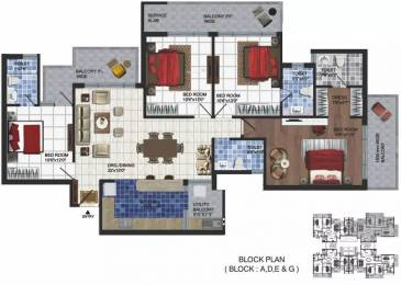 2200 sqft, 4 bhk Apartment in Parker White Lily Sector 8, Sonepat at Rs. 65.0000 Lacs