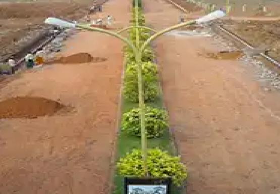 1494 sqft, Plot in Builder uvn golden palms Bhogapuram, Visakhapatnam at Rs. 16.6000 Lacs