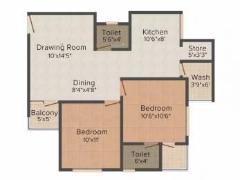1143 sqft, 2 bhk Apartment in Prathna Lavish Gota, Ahmedabad at Rs. 40.0000 Lacs