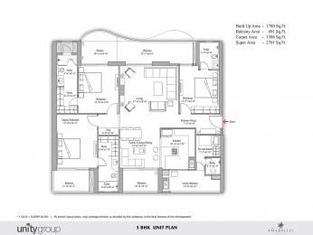 2701 sqft, 3 bhk Apartment in Unity The Amaryllis Karol Bagh, Delhi at Rs. 3.5100 Cr