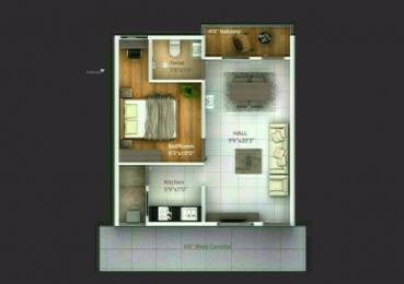 650 sqft, 1 bhk Apartment in Builder Project Gachibowli, Hyderabad at Rs. 20.5000 Lacs