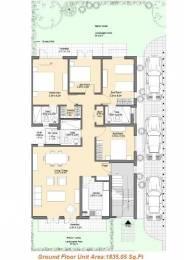 1620 sqft, 2 bhk BuilderFloor in Vatika Iris Floors Sector 82, Gurgaon at Rs. 14000