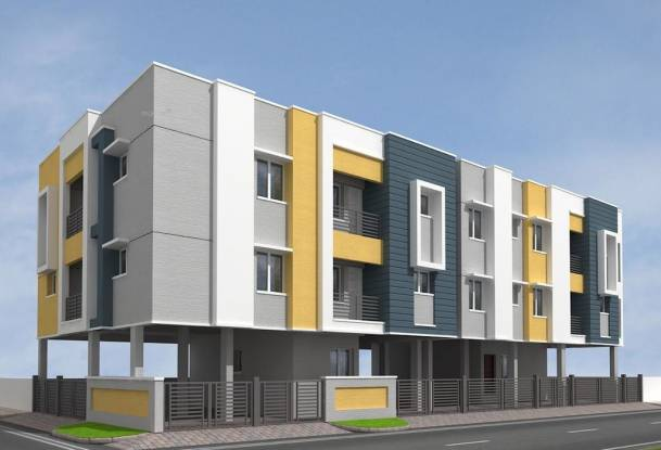 735 sqft, 2 bhk Apartment in Builder Happy homes ambattur Ambattur, Chennai at Rs. 31.5977 Lacs
