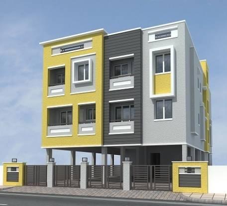 750 sqft, 2 bhk Apartment in Builder Happy homes ambattur Ambattur, Chennai at Rs. 28.8750 Lacs