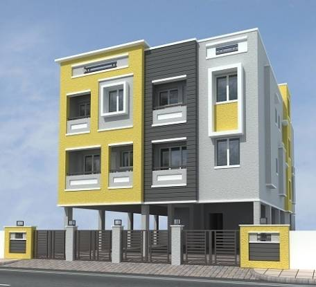 750 sqft, 2 bhk Apartment in Builder Happy homes ambattur Ambattur, Chennai at Rs. 30.4150 Lacs