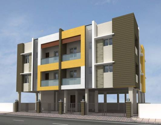 765 sqft, 2 bhk Apartment in Builder Happy homes ambattur Ambattur, Chennai at Rs. 33.6600 Lacs