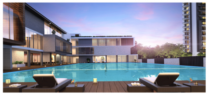 1366 sqft, 2 bhk Apartment in Godrej Meridien Sector 106, Gurgaon at Rs. 1.1900 Cr