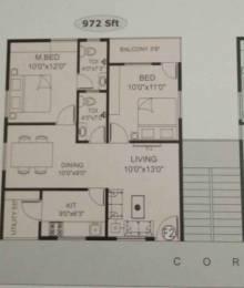 972 sqft, 2 bhk Apartment in Builder Anjali geethanjali Kommadi Road, Visakhapatnam at Rs. 34.0200 Lacs