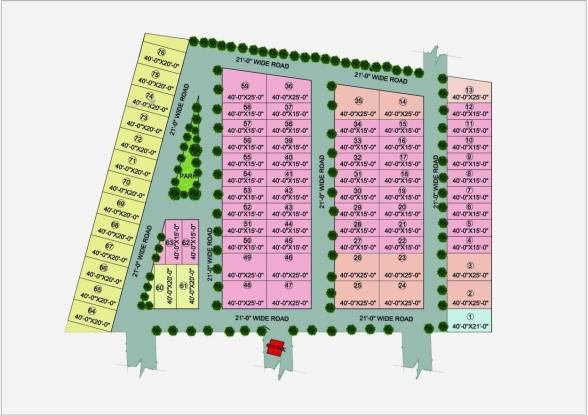 950 sqft, 2 bhk Villa in Builder Row house Kursi Road, Lucknow at Rs. 22.5100 Lacs