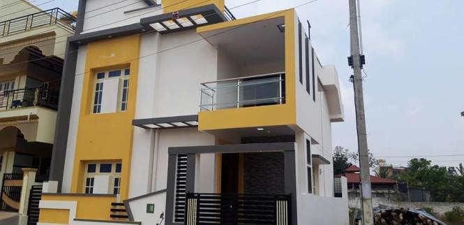 1254 sqft, 3 bhk Villa in Builder Deepika New Springs Whitefield Hope Farm Junction, Bangalore at Rs. 65.1420 Lacs