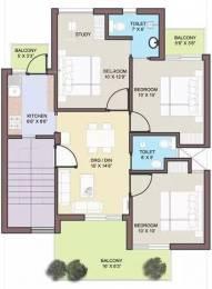 1620 sqft, 3 bhk Apartment in BPTP Park Elite Floors Sector 85, Faridabad at Rs. 13000
